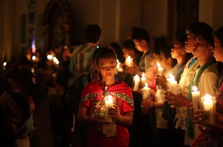 Lilin Sukacita Kasih JAMNAS SEKAMI 2018 Simbol Persatuan Menuju 'Indonesia Cahaya'