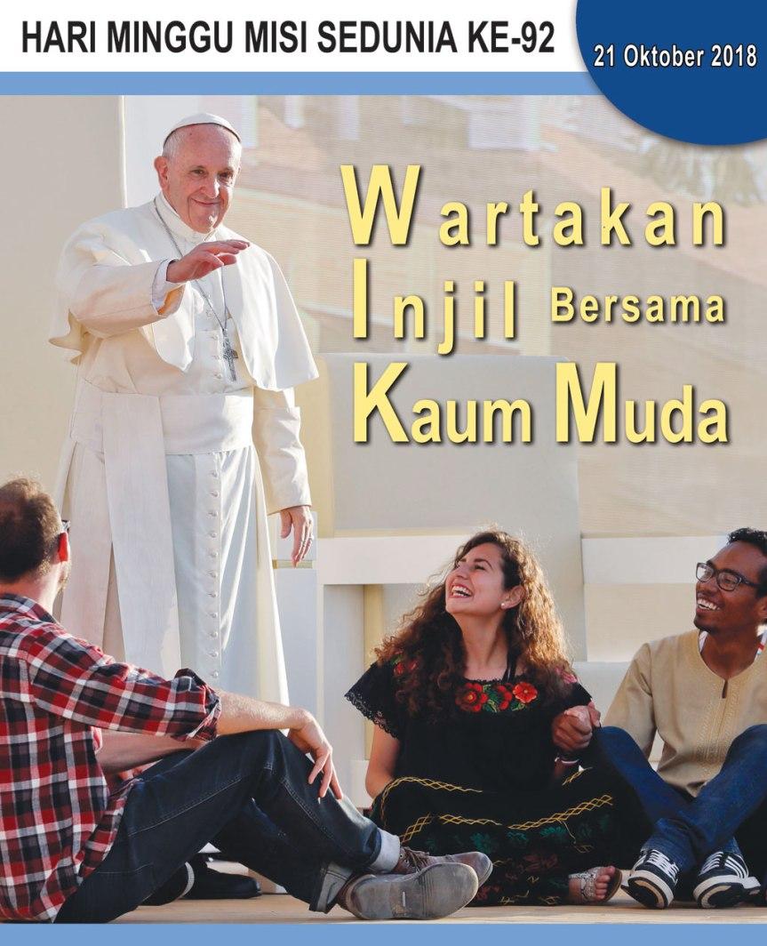 Bersama kaum muda, marilah kita wartakan Injil kepada semuaorang