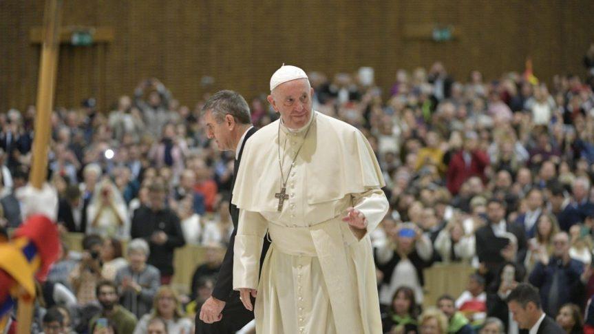 Audiensi: Selama Adven, mintalah Yesus untuk mengajar kitaberdoa