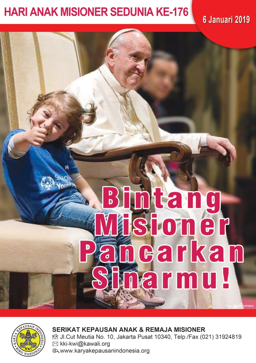 Menyambut Hari Anak Misioner Sedunia2019