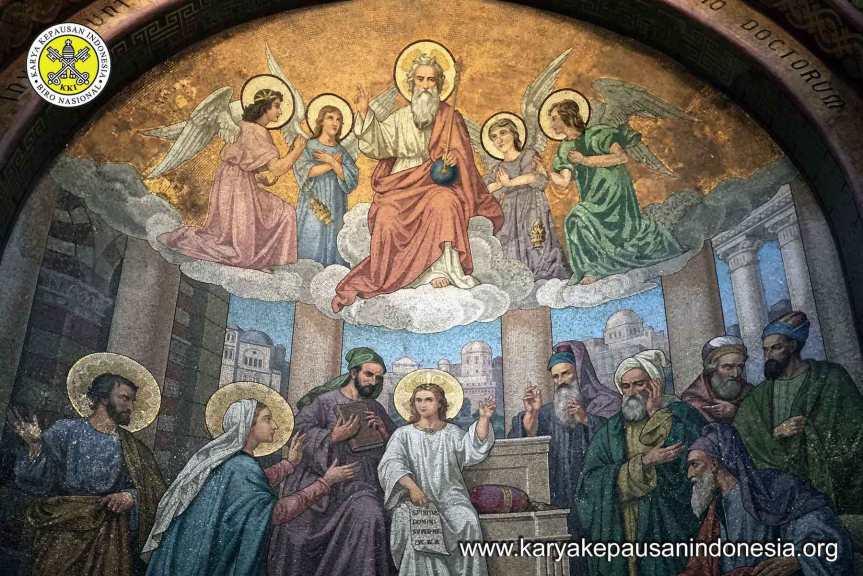 Antara Bapa, Yesus danKita