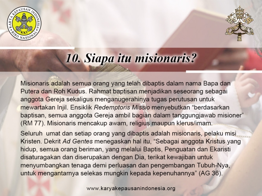 Missionary Questions (10)