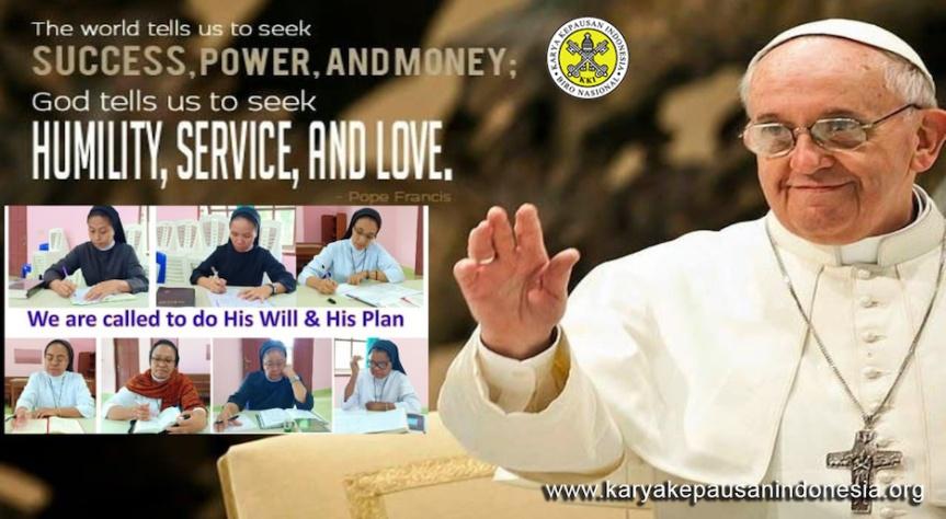 Meneladani Sikap Tuhan dalam Menghadapi SituasiHidup