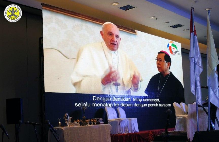 Pesan Paus untuk Kongres Misi Nasional2019