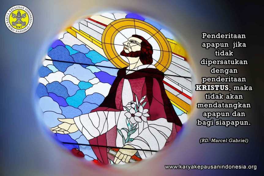 """Melengkapi yang Kurang dari PenderitaanKristus"""