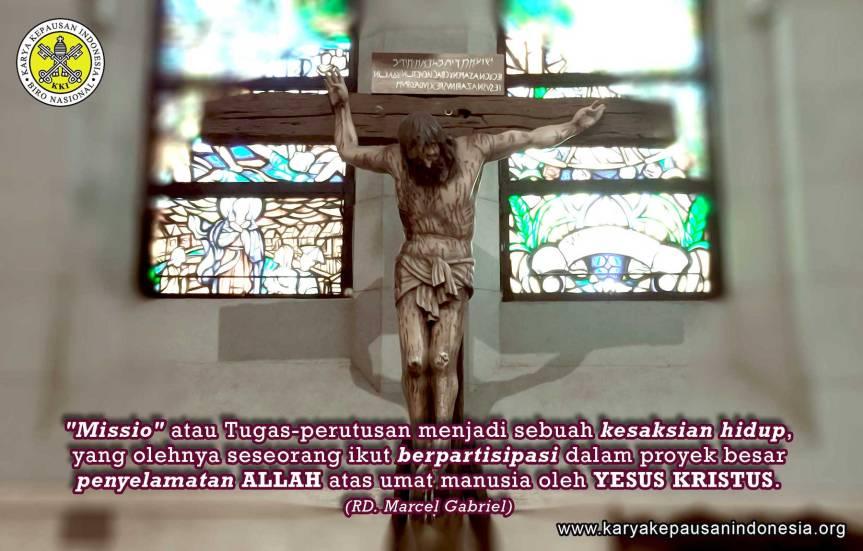 """Misionaris: Ber-""""Missio"""" Lewat Cara dan TeladanHidup"""