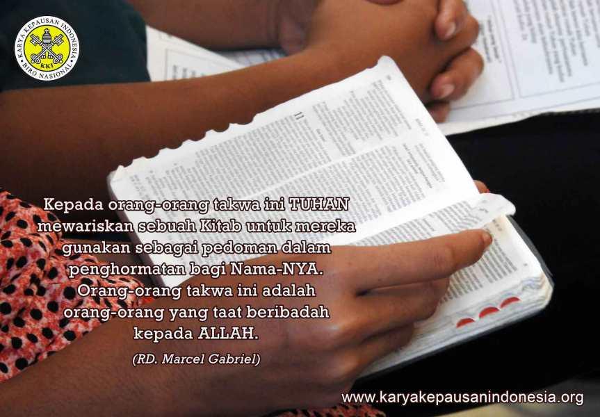 Misionaris dalam Pertarungan yang Baik Melawan yangJahat