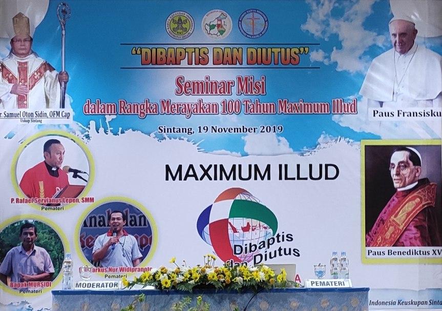 Adil Ka' Talino, Bacuramin Ka' Saruga, Basengat Ka'Jubata – Merayakan 100 Tahun Maximum Illud di KeuskupanSintang