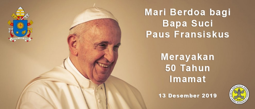 50 Tahun Imamat PausFransiskus