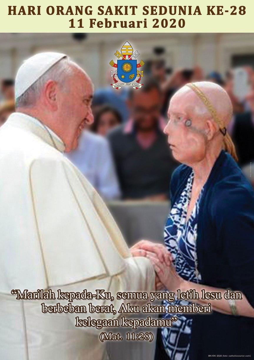 Pesan Paus untuk Hari Orang Sakit Sedunia2020