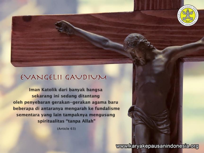 MQ: Evangelii Gaudium Art.63