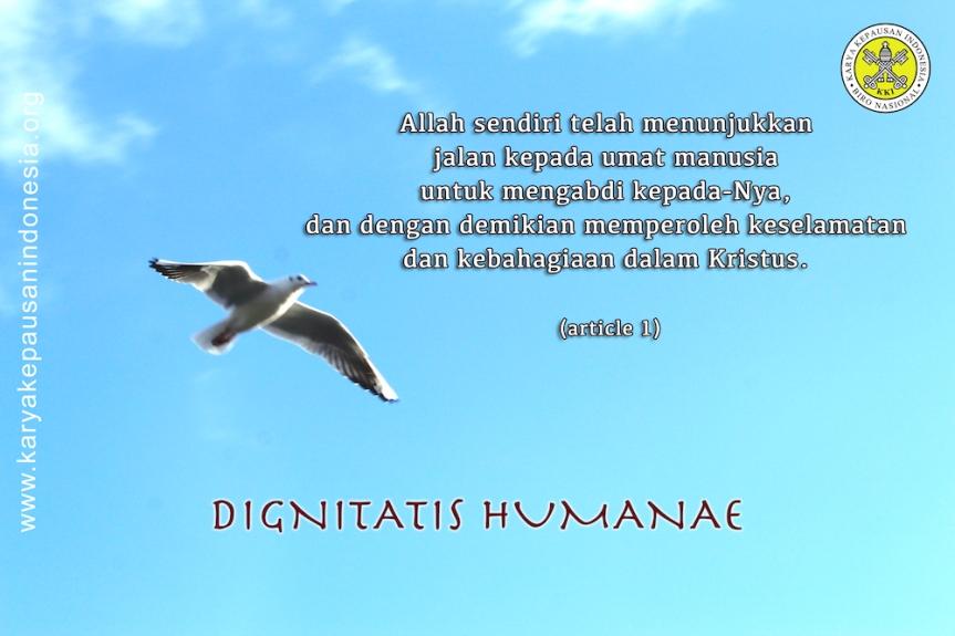 Dignitatis Humanae – Article1