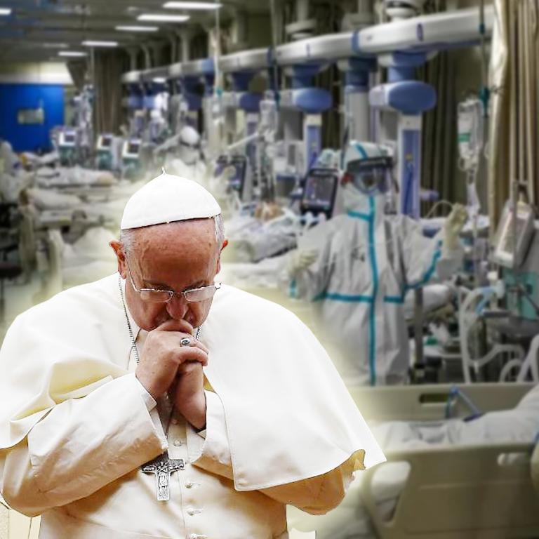 Paus Fransiskus Berdoa bagi Mereka yang Terkena Dampak VirusCorona