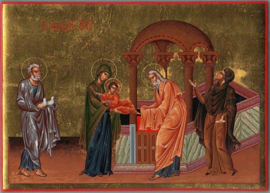 Pesta Yesus Dipersembahkan di BaitAllah