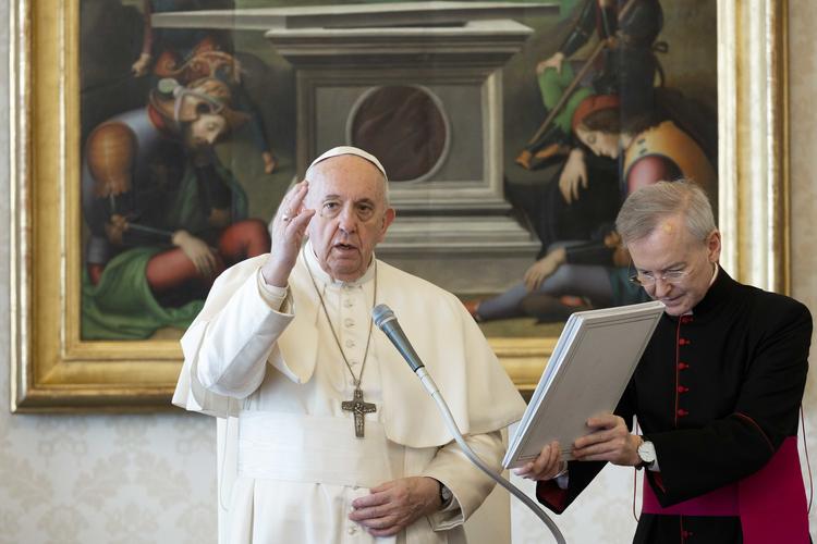 Pesan Paus Fransiskus pada Audiensi Umum 25 Maret 2020: Hari Raya KabarSukacita