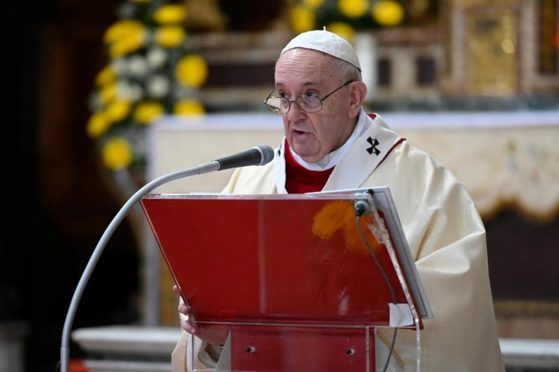 Homili Paus Fransiskus pada Misa Minggu Kerahiman Ilahi – 19 April2020