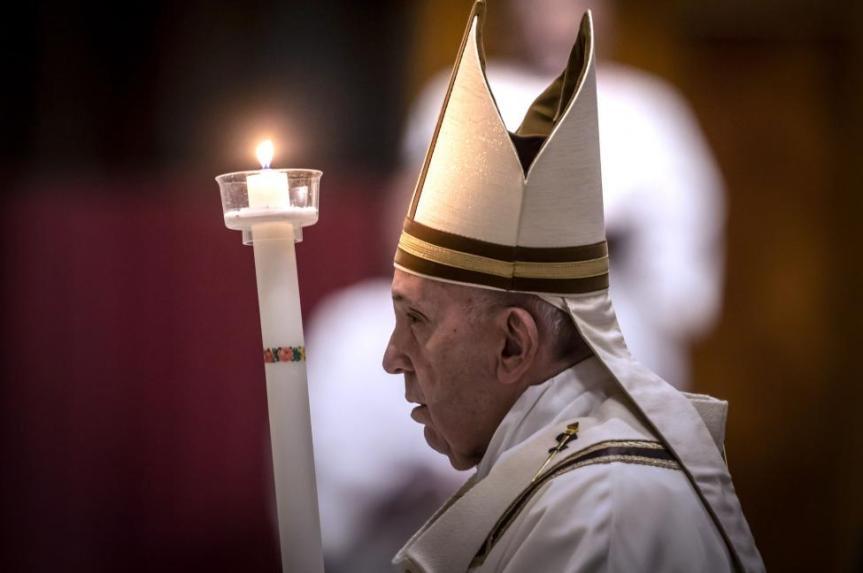 Homili Paus Fransiskus pada Misa Vigili Paskah – 11 April2020