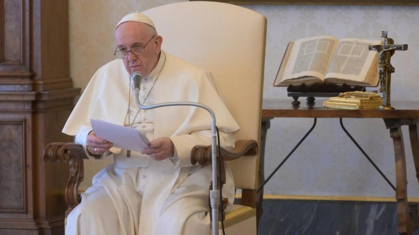 Audiensi Umum Paus Fransiskus 08 April2020