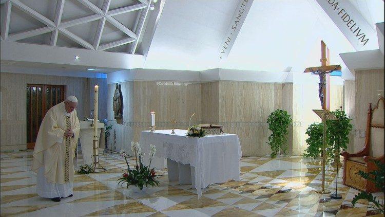 Misa Peringatan 100 tahun kelahiran St. Yohanes Paulus II pada 18 Mei2020.