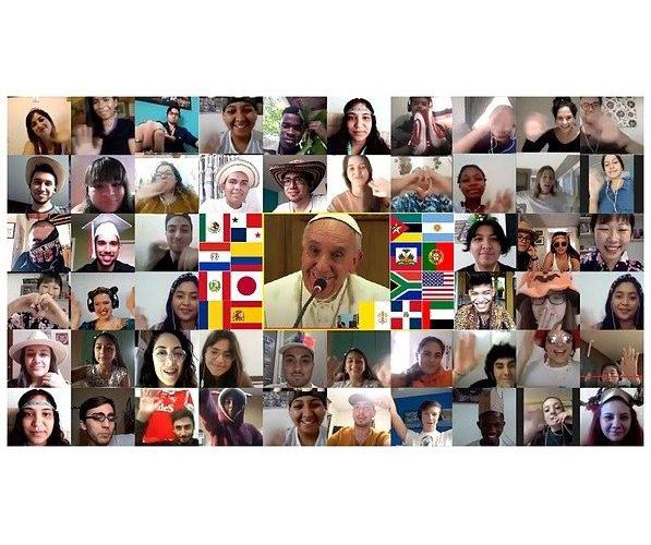 Paus mendorong Scholas Occurrentes untuk membantu orang lain menemukan maknakehidupan