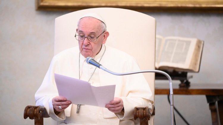 Katekese dan Sapaan Paus Fransiskus pada Audiensi Umum 24 Juni2020