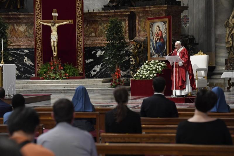 Homili Bapa Suci Paus Fransiskus pada Hari Raya Santo Petrus dan PaulusRasul