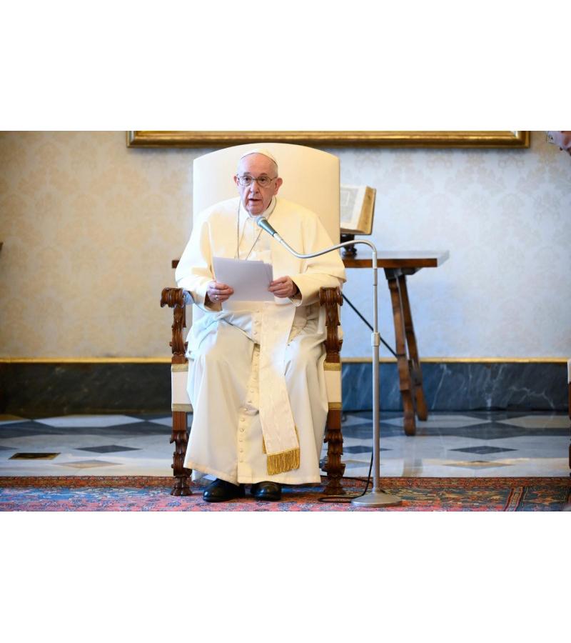 Katekese dan Sapaan Paus Fransiskus pada Audiensi Umum 10 Juni2020