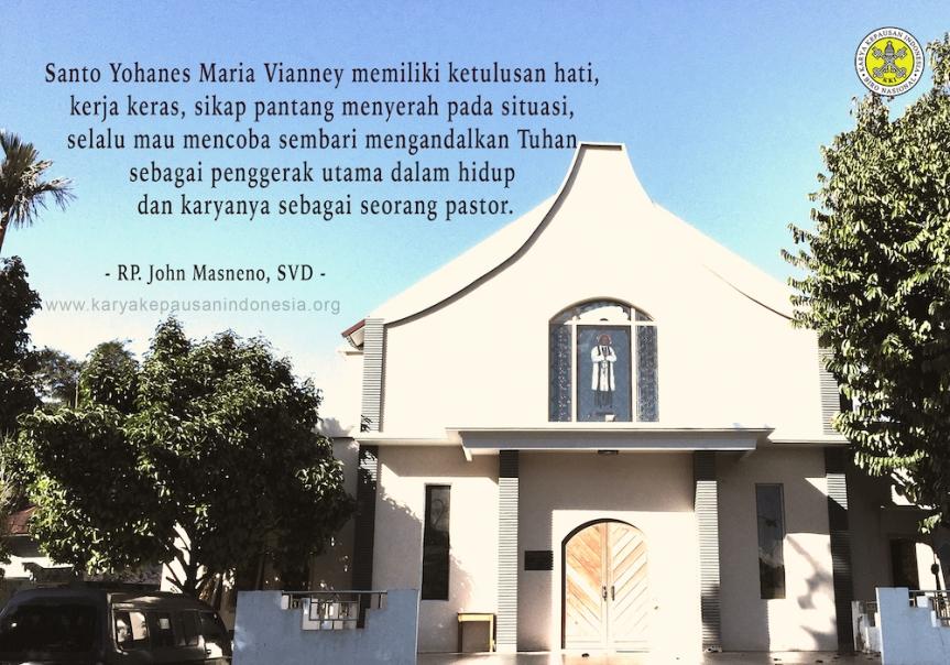Belajar dari Kesahajaan Hidup St. Yohanes MariaVianney