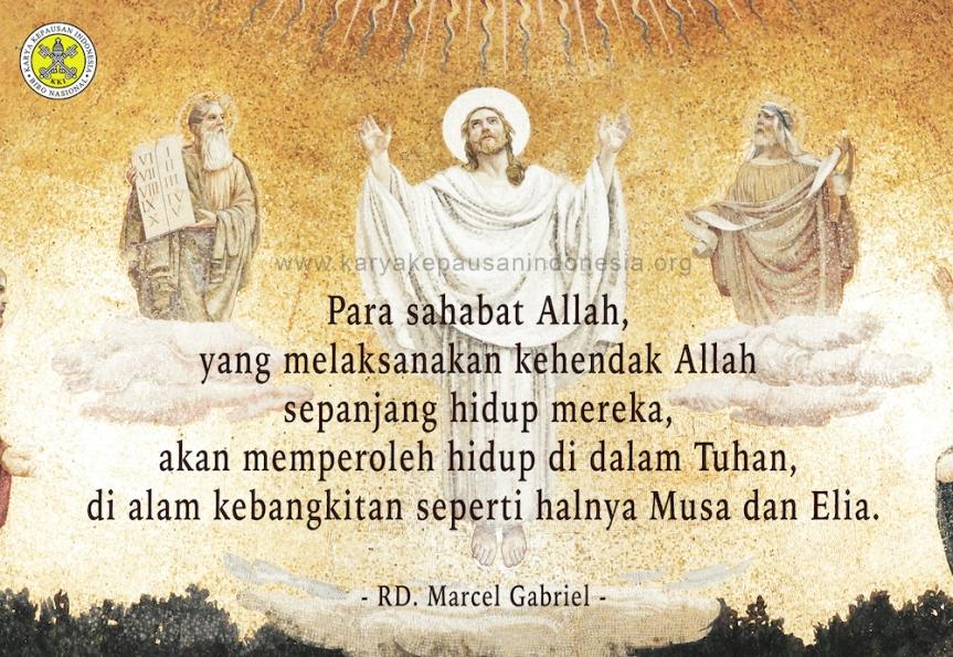 Misionaris & Pesan Transfigurasi YesusKristus
