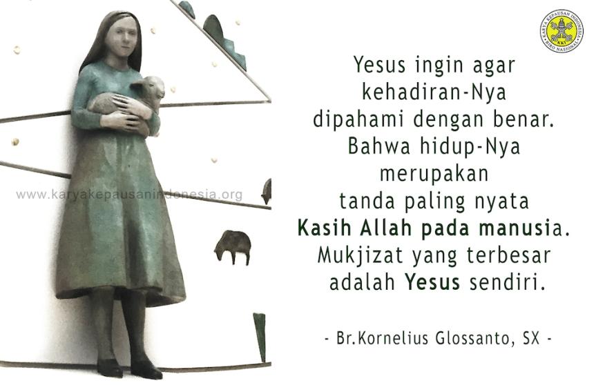 Mengimani Yesus denganTulus