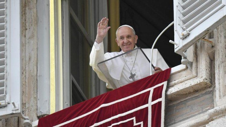 Sapaan Paus Fransikus pada Doa Malaikat Tuhan – 27 September2020