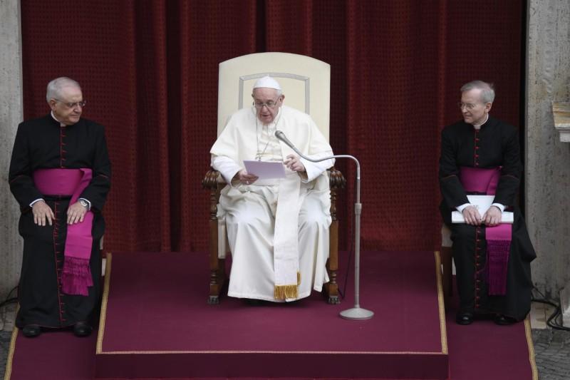 Katekese dan Sapaan Paus Fransiskus pada Audiensi Umum – 2 September2020