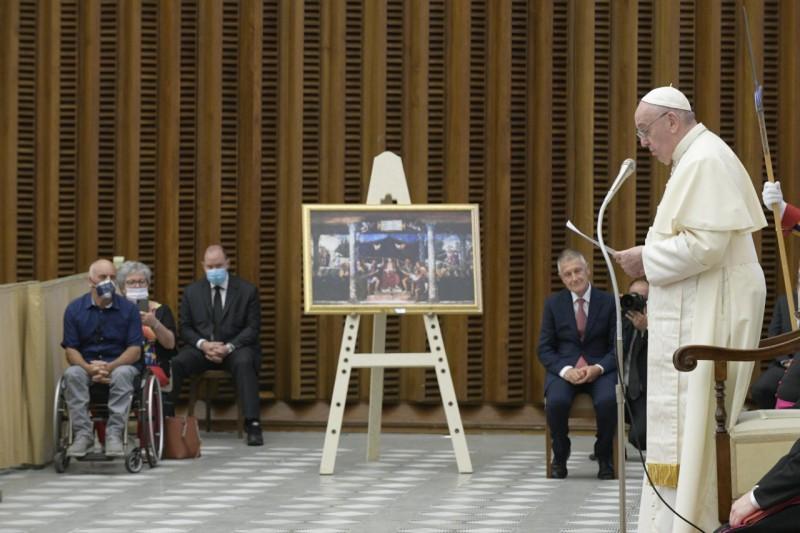 "Pidato Bapa Suci Paus Fransiskus kepada Anggota Yayasan Farmasi ""Banco"""