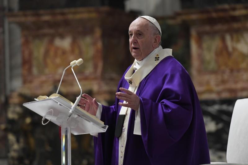 Homili Paus Fransiskus pada Misa Minggu Adven Pertama – 29 November2020