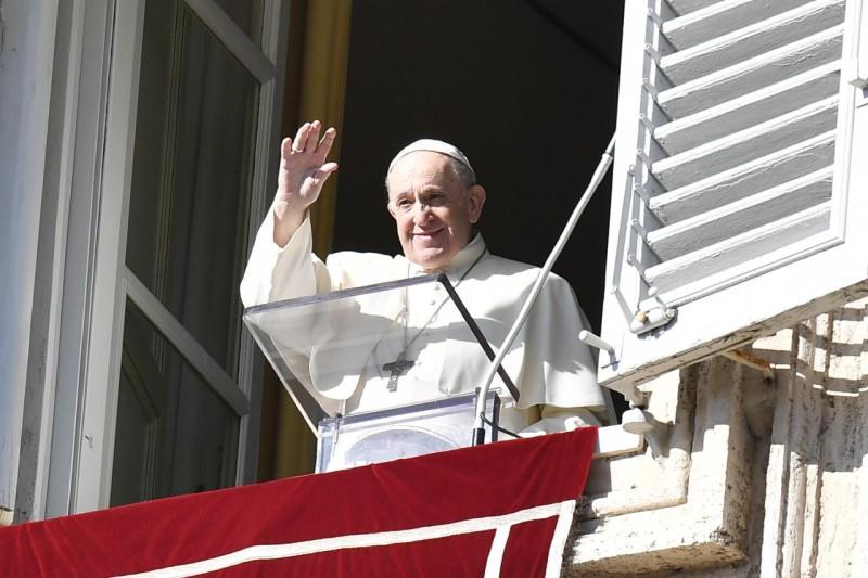 Sapaan Paus Fransiskus pada Angelus – 22 November2020