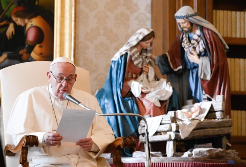 Katekese dan Sapaan Paus Fransiskus pada Audiensi Umum – 16 Desember2020