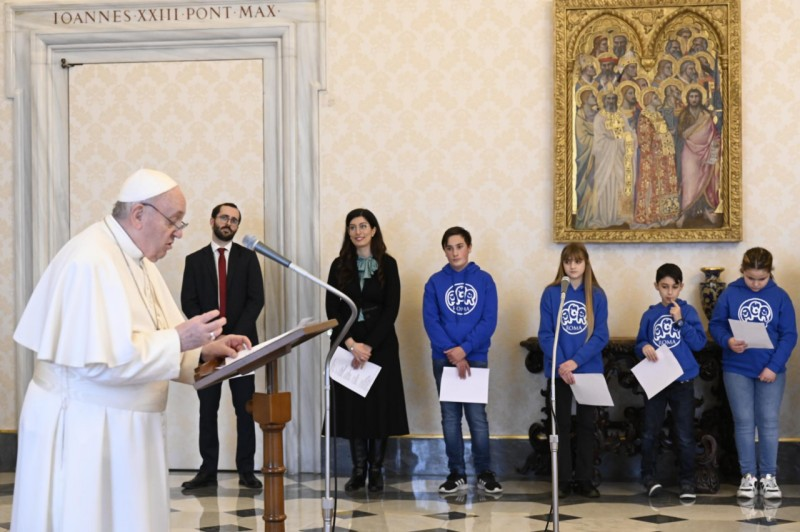 Sapaan Paus Fransiskus pada Angelus – 31 Januari2021