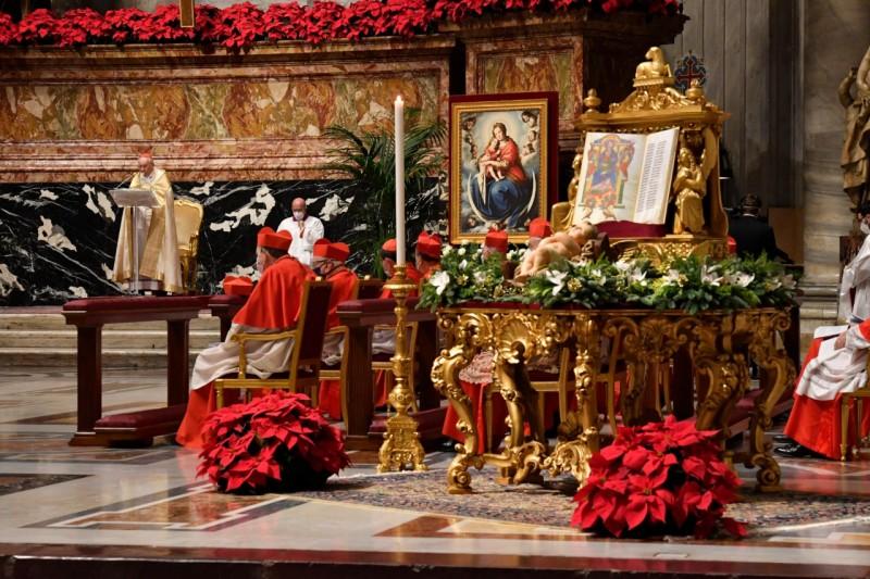Homili Paus Fransiskus pada Misa Syukur Malam TahunBaru