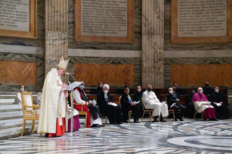 Homili Paus Fransiskus pada Pesta Bertobatnya St. Paulus – 25 Januari2021