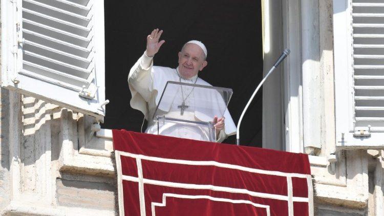 Sapaan Paus Fransiskus pada Angelus – 21 Februari2021