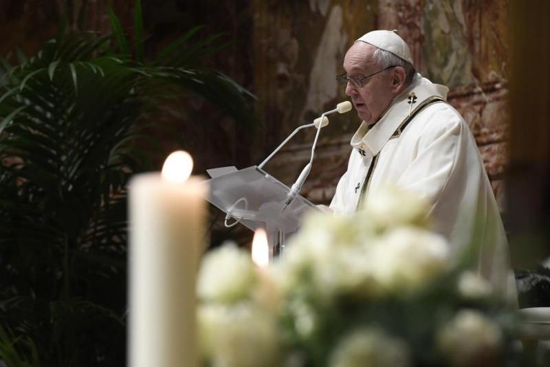 Homili Paus Fransiskus pada Misa Kudus Pesta Yesus Dipersembahkan di Bait Allah – 2 Februari2021