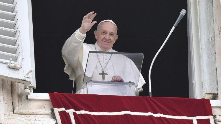 Sapaan Paus Fransiskus pada Angelus – 14 Maret2021