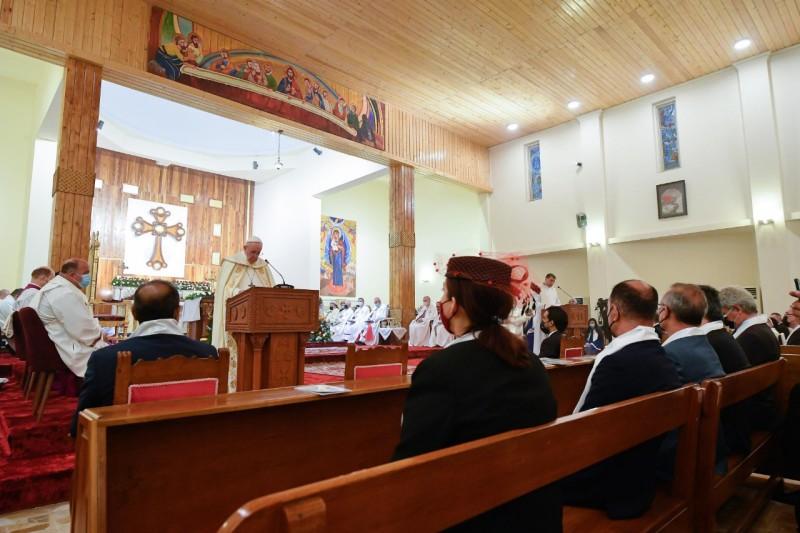 Homili Paus Fransiskus pada Misa Kudus – 6 Maret2021