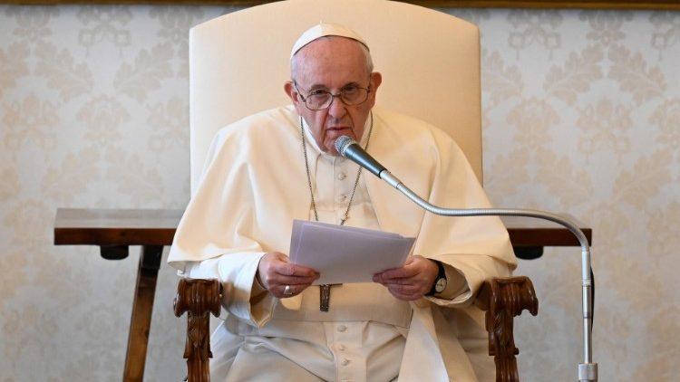 Katekese Paus Fransiskus pada Audiensi Umum – 17 Maret2021