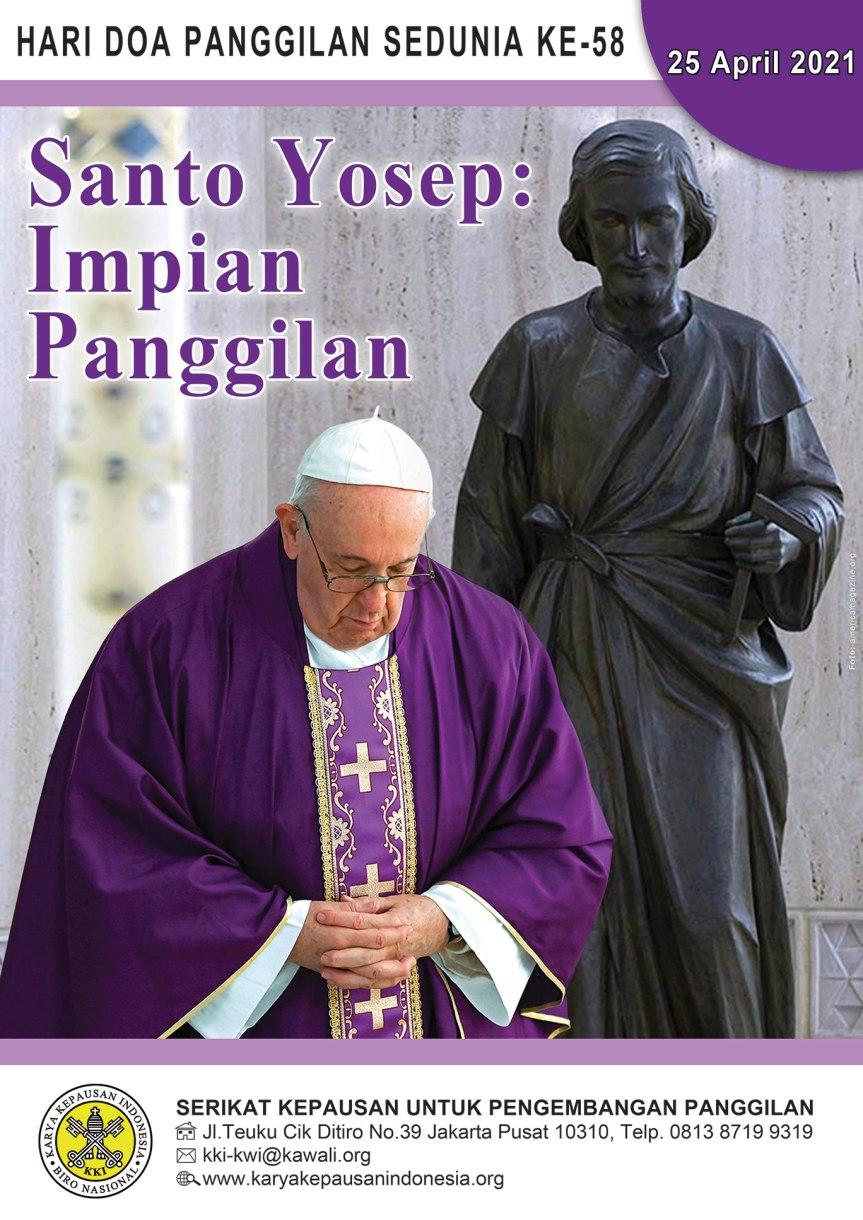 Pesan Paus untuk Hari Doa Panggilan Seduniake-58