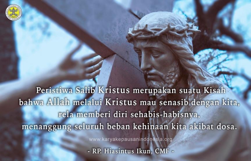 Solidaritas Total Kristus MelaluiSalib-Nya