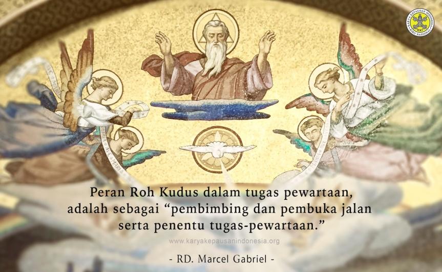 Peran Tritunggal dalam Pewartaan tentang Kristus &Kebangkitan-Nya