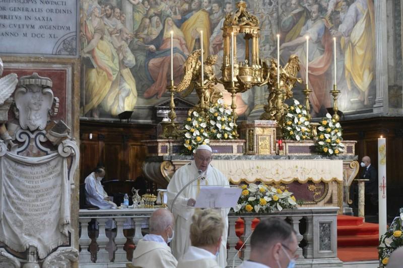 Homili Paus Fransiskus pada Misa Kudus Hari Minggu – Pesta Kerahiman Ilahi – 11 April2021
