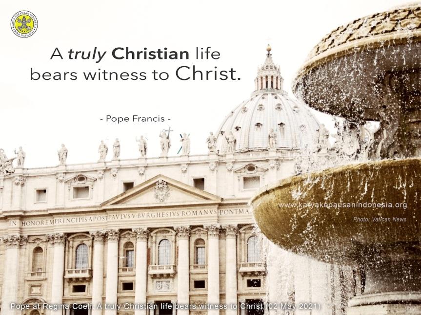 MQ: Pope Francis'Message