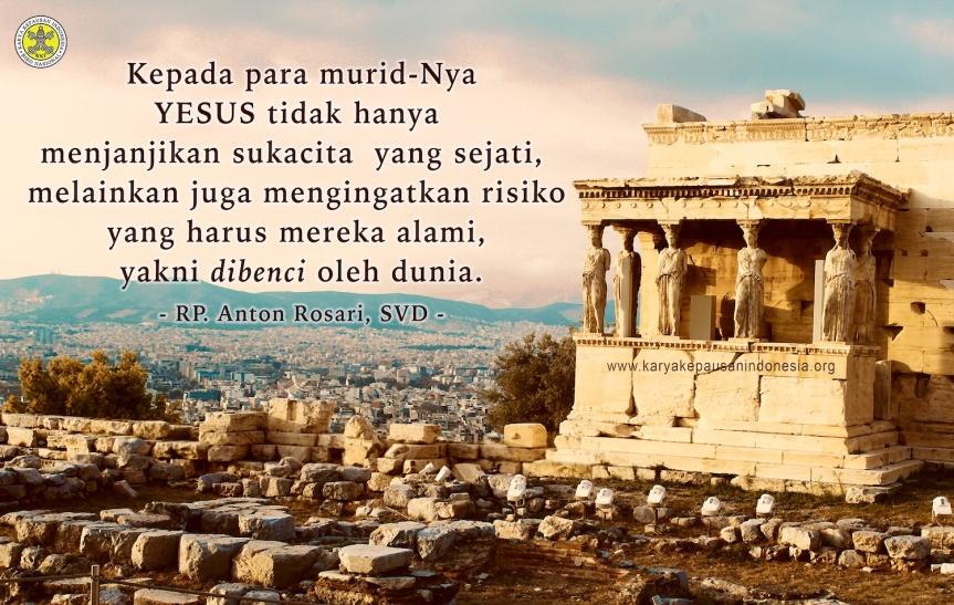 Kebencian Dunia Terhadap Para MuridYESUS